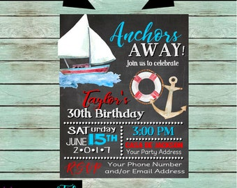 Yacht Party Invite