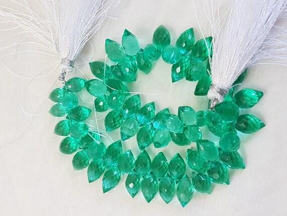 10 Pieces Paraiba Green Quartz,Paraiba Quartz Oval Shape Lose Gemstone,Pair AAA Grade Quality Paraiba Green Quartz,Size 14.5x10.5x6 mm