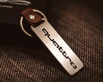 Quattro keychain