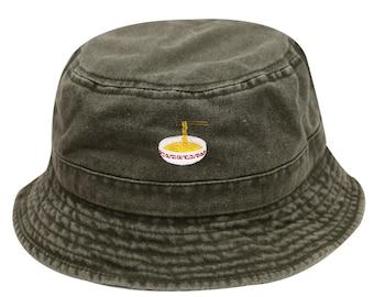 cc2895980 Green bucket hat | Etsy