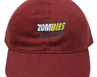 Capsule Design Zombies Subway Dad Hat in Burgundy 02a7a75fb9b