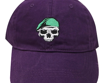 48e7bc6d2 Purple pirate hat | Etsy