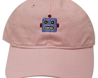 Capsule Design Robot Dad Hat in Pink 90d0e44f5c7d