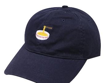 33b9ef1607274 Capsule Design Noodles Cotton Baseball Dad Cap Navy
