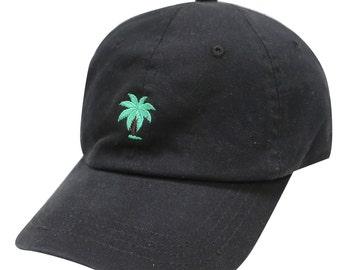 2c217185c03d5c Capsule Design Palm Tree Cotton Baseball Cap Black