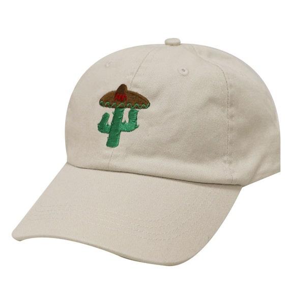 Capsule Design Cactus Cotton Baseball Dad Caps Putty  7c15ec6a7a6e