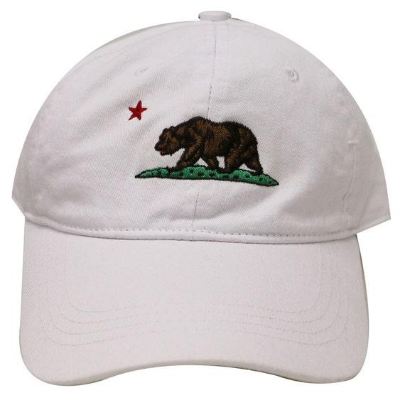 Capsule Design California Dad Hat in White  18ead8419b9