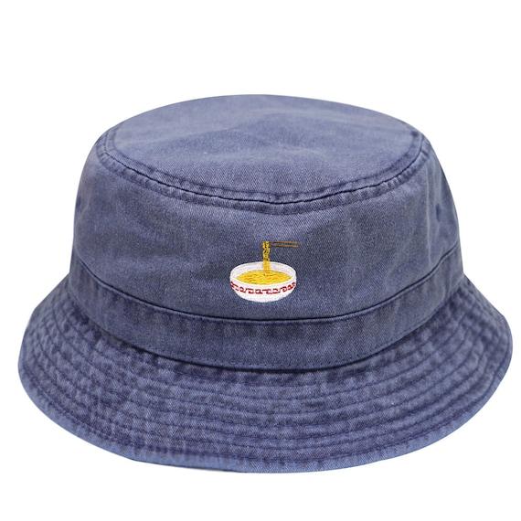 6198821e2 Capsule Design Noodles Washed Cotton Bucket Hats - Navy