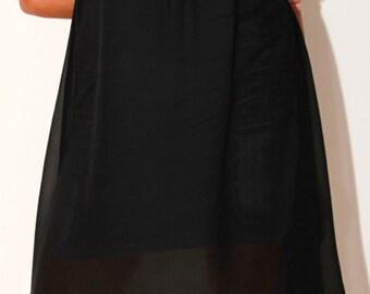 Pencil dress/evening dress/dresses Empire sleeveless mini dress//madameastridcouture/princess short dress/