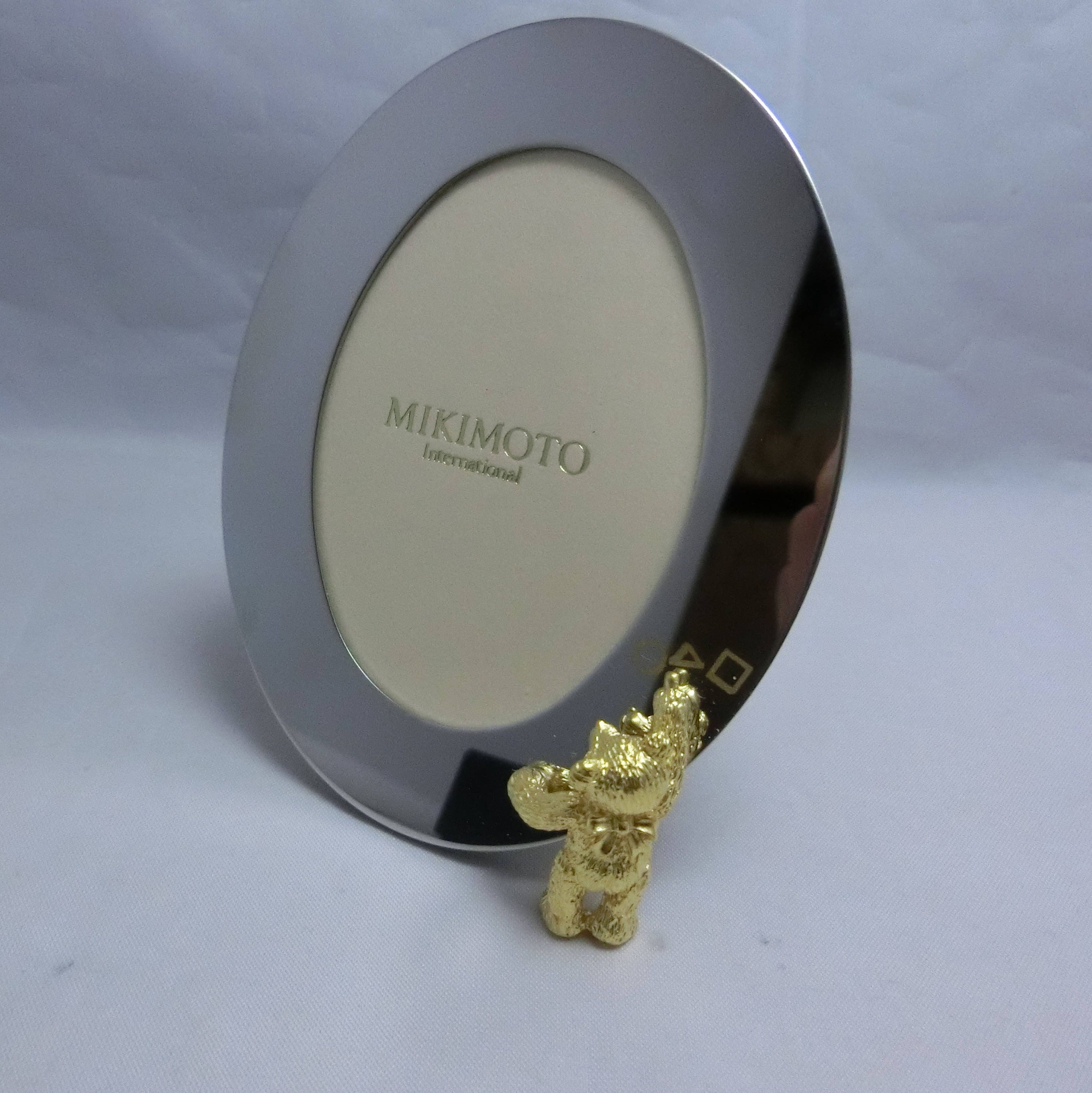 Mikimoto Picture Frame / Photo Frame with Teddy Bear Motif 100 ...