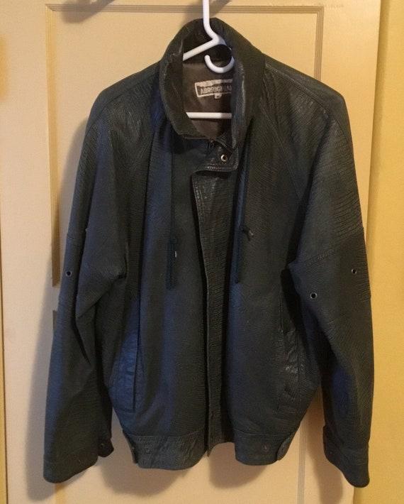 Green Jacket,Leather Jacket,Zipper Jacket,Zipper C