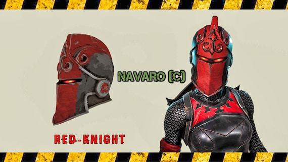 Red Knight Helmet Red Knight Helmet Templates Diy Etsy