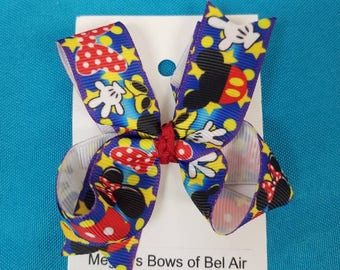 Mickey and Minnie Bow