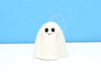 Felt Ghost hanging ornament