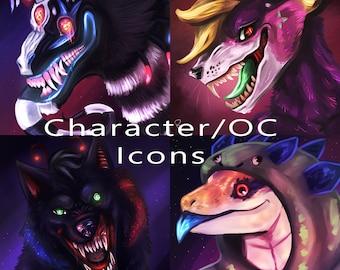 Custom Original Character Digital Icon