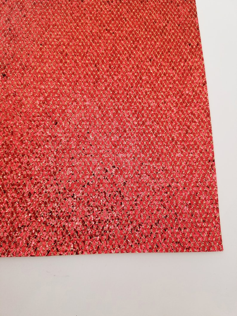 REDGOLD glitter canvas sheet,8x11 canvas sheet,rainbow glitter sheet,glitter fabric sheet,glitter sheets GEM glitter material sheet