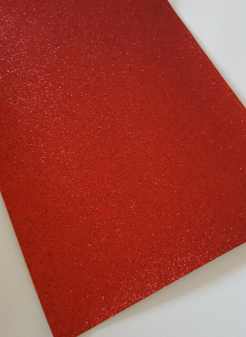 RED fine glitter canvas sheet,8x11 canvas sheet,red glitter sheet,canvas sheet,glitter fabric sheet,glitter fabric material, canvas backed photo
