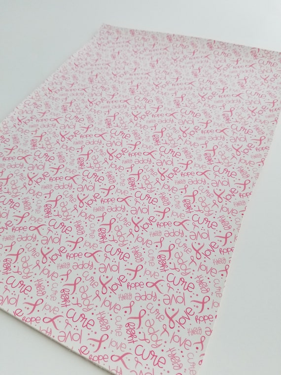 Light pink abstract faux leather fabric sheet //full or 1//2 sheet