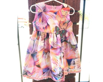 DIY sewing kit - Little Girl's dress with lined bodice