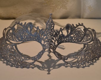 Masquerade Mask Darker Shade of Grey Colour Halloween Masquerade Balls, Weddings, New Year Party 2018 , Proms, Christmas Party Gifts