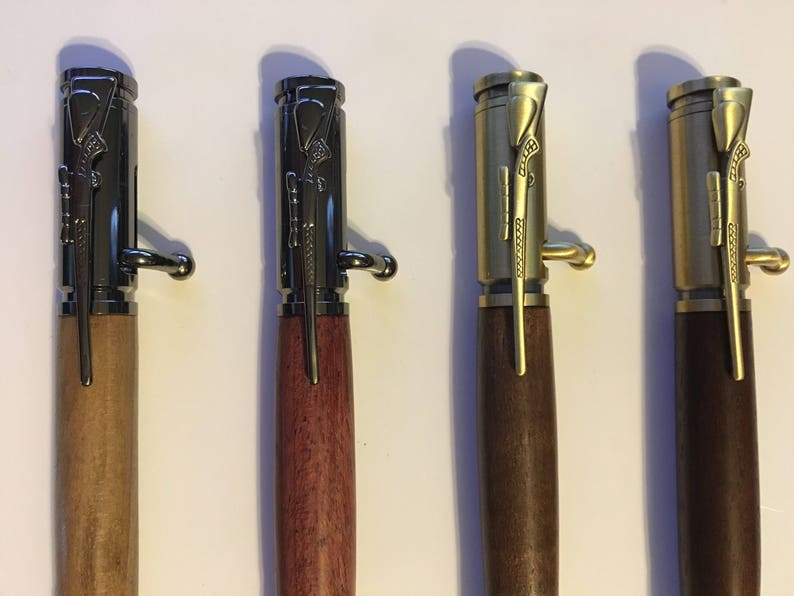 Custom 30 Caliber Bolt Action Bullet Cartridge Pencil