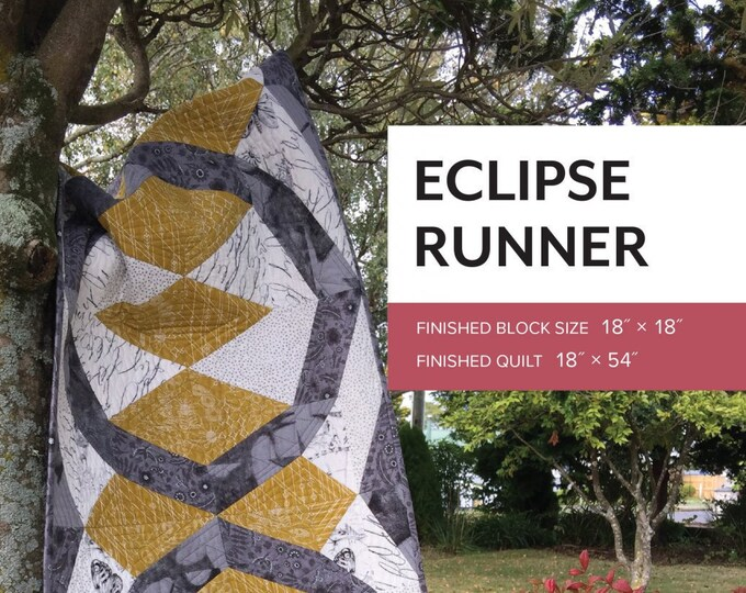 Eclipse Runner Pattern by Sheila Christensen Quilts