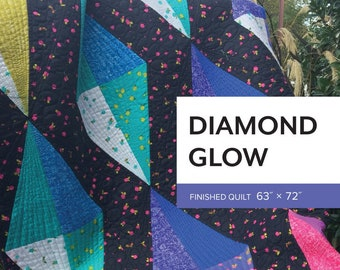 Diamond Glow Quilt Pattern by Sheila Christensen Quilts