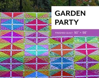 Garden Party Pattern by Sheila Christensen Quilts