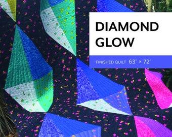 Diamond Glow Pattern by Sheila Christensen Quilts