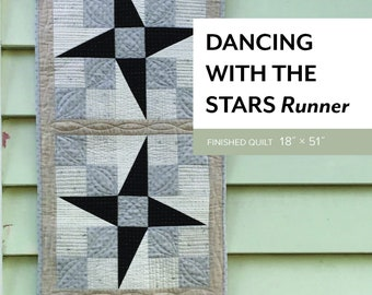 Dancing with the Stars - Runner Pattern by Sheila Christensen Quilts