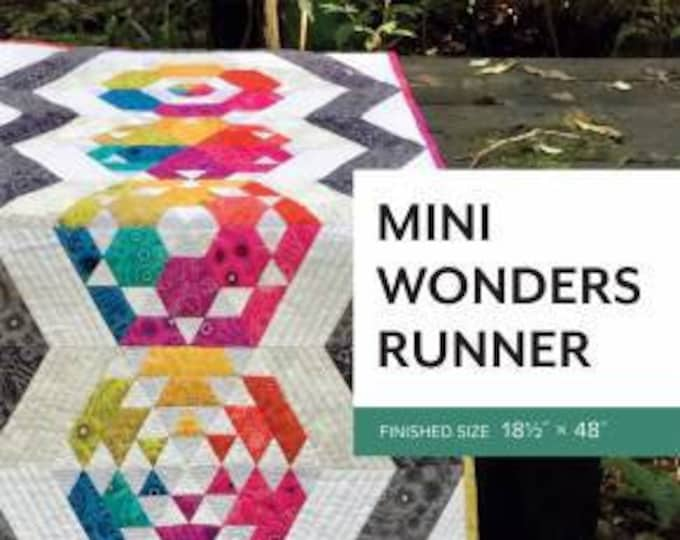 Mini Wonders Runner Pattern by Sheila Christensen Quilts