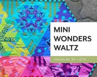 Mini Wonders Waltz Pattern by Sheila Christensen Quilts