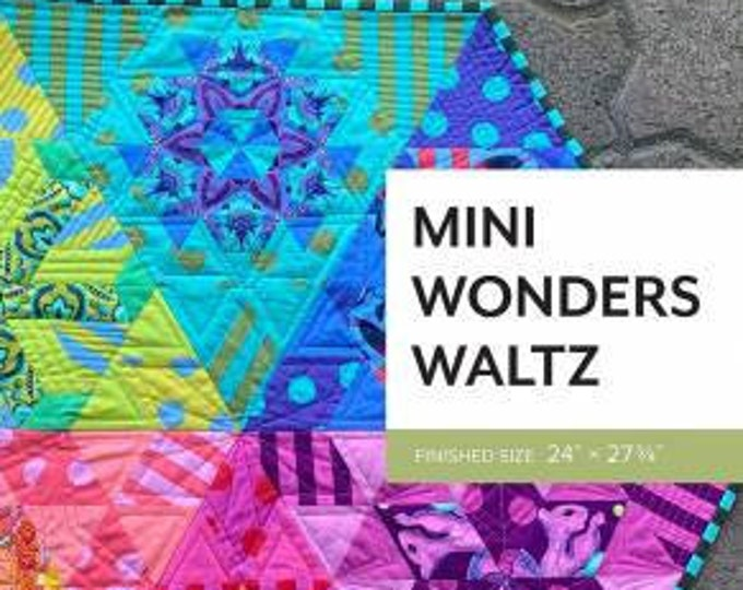 Mini Wonders Waltz Pattern by Sheila Christensen Quilts
