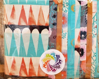 "Calliope Precut Kits - Santa Fe by Sarah Watts for Cotton + Steel - Ten 6.5"" coordinating strips - Quilting Cotton"