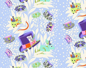 Free Spirit Fabrics - Curiouser and Curiouser by Tula Pink - 6PM Somewhere - Daydream - 165.daydream