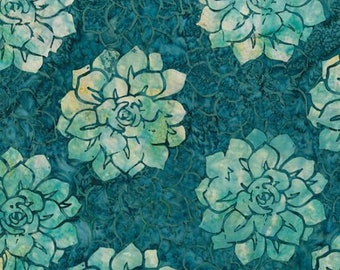 Hoffman -Bali Batik - MR12-21 Teal - Batik