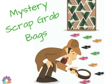 Puzzle Mystery Quilt - Scrap Grab Bag (14.0 - 15.5 oz)