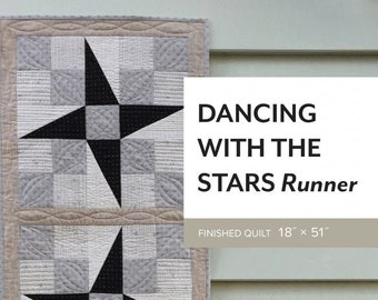 Dancing With the Stars Runner Pattern by Sheila Christensen Quilts
