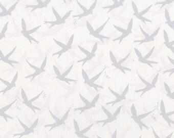 Regan Fabric A - Robert Kaufman Marmalade Dreams by Valori Wells - AVW-17900-186 - Silver