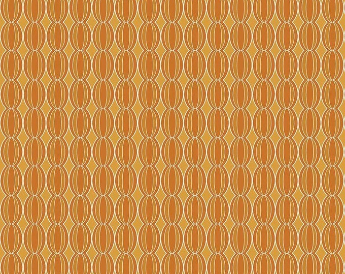 CLEARANCE - Riley Blake - Botanique by Lila Tueller - C5084 Circles Orange