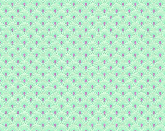 Free Spirit Fabrics - Pinkerville by Tula Pink - PWTP131.COTTONCANDY (Louise Fabric BINDING)