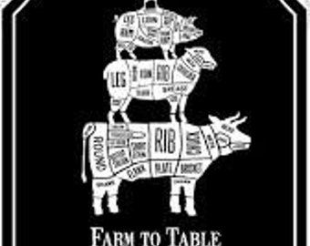 "Northcott Fabrics - Farm to Table Apron Panel - 22515.99 - approx 24"" x 44"""