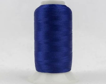 WonderFil - Polyfast Polyester 40wt 1000m - Dark Royal Blue -  # P1-2114