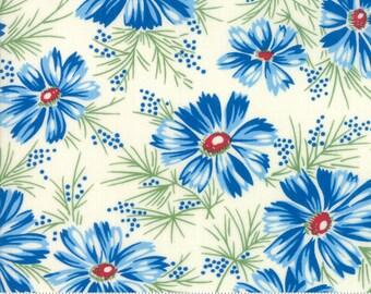 Moda Fabrics - Sweet Harmony by American Jane - 21751 21 - Blue Floral