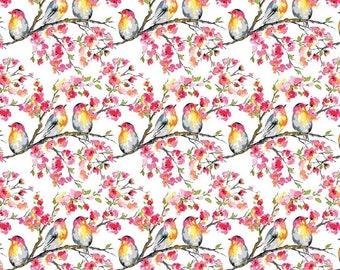 Riley Blake Fabrics - Sweet Melody by Lila Tueller - White (C8401)