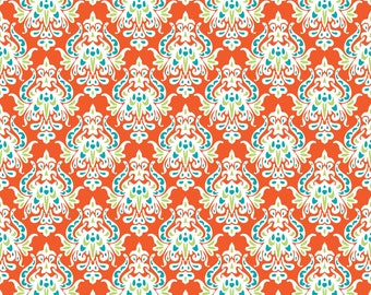 Patrick Lose - Boho Chic - Damask Orange (66342-B770715)  - Floral