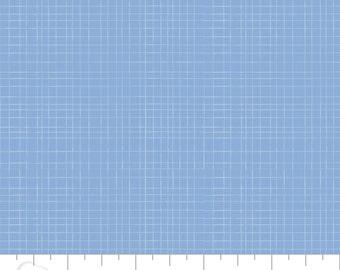 CLEARANCE - Camelot Mixology - Linen in Marina - Blender Fabric
