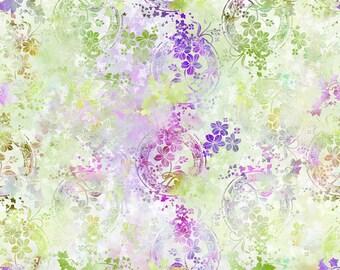 In the Beginning Fabrics - Garden of Dreams by Jason Yenter - 4-JYL-3 (Amy Fabric A)