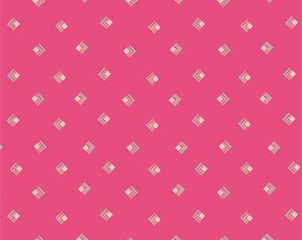 Art Gallery Fabrics - Open Heart by Maureen Cracknell - OPH-24353 - Everlasting Tokens Pink