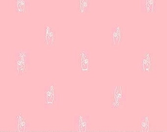 FIGO / Northcott Fabrics - Lucky Charms - 92001-21 PINK - Modern